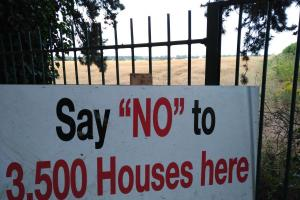 Say No to 3,500 houses here